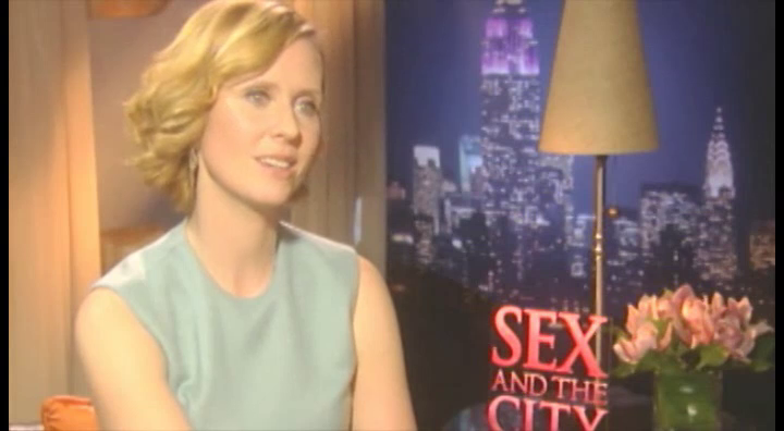 Cynthia Nixon – Sex & The City (Hollywood.com)