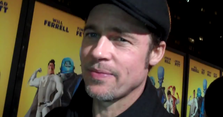 Brad Pitt – Megamind Premiere (Red Carpet Report)