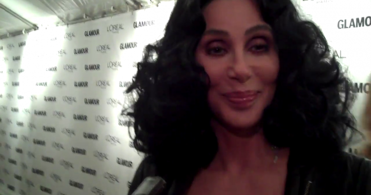 Cher – Glamour Women Of The Year Awards (Red Carpet Report)
