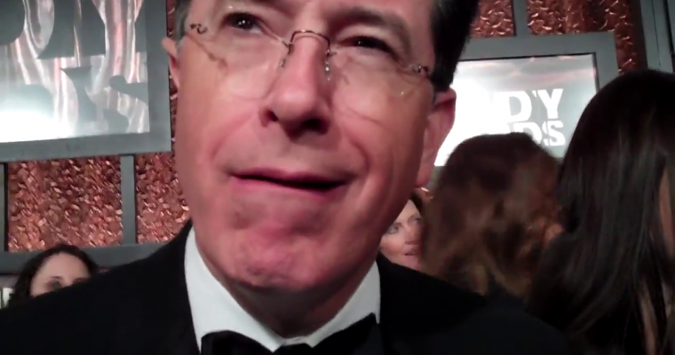 Stephen Colbert – Comedy Central Comedy Awards (Red Carpet Report)