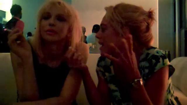 Courtney Love (InTouch Magazine)